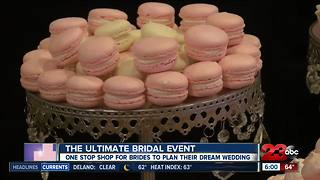 The Ultimate Bridal Event in downtown Bakersfield - Video