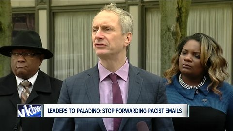 Local leaders cry racism over controversial Paladino email