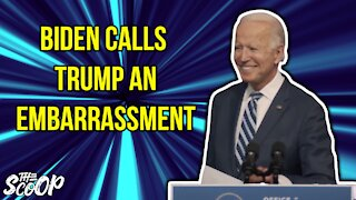 Joe Biden Taunts President Trump For Not Conceding