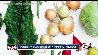 West coast company wants to combat food waste in Indy with Imperfect Produce - Video