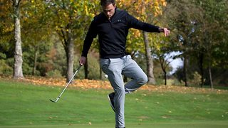 Golf or football: These trick shots are pushing the boundaries of golf