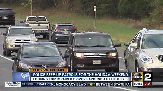 Police beef up patrols for July 4th weekend - Video