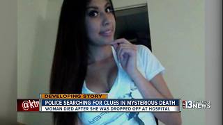 Police searching for clues after mysterious death - Video