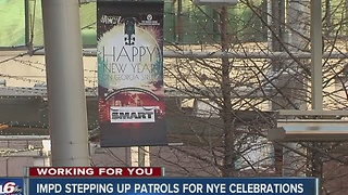 IMPD stepping up patrols for NYE celebrations