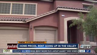 Home prices, rent continue to go up across the Las Vegas valley - Video