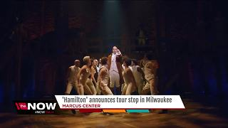 Hamilton coming to Milwaukee - Video