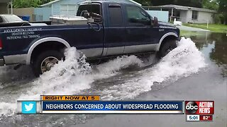 Hillsborough County working on permanent fix for flooding issues in unincorporated Tampa