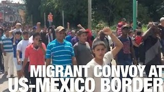 March of Central American Migrant Convoy to US Border Causes Political Backlash