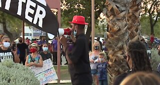 National Action Network Las Vegas holds rally for change, police reform