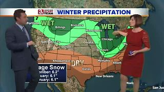 Extended winter forecast - Video