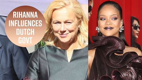 Dutch minister donates to education after Rihanna asks her to
