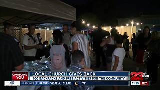 Local church gives back to the community impacting a single mother