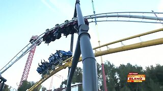 World's First Racing Launch Coaster