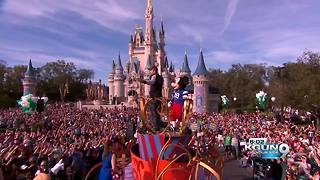 Former Wildcat Nick Foles parades in Disney World - Video