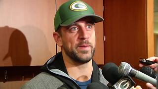 Rodgers on coming back this year - Video