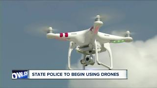 State police to start using drones - Video