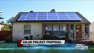 Company seeks approval for solar plant in Yuma County