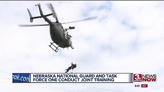 Nebraska National Guard and Task Force One conduct training