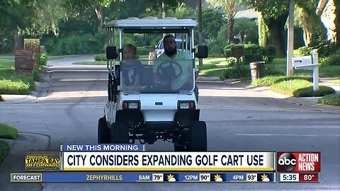 More golf carts could be on Temple Terrace roads