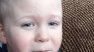 A Boy Cries Because He Has A Small But - Video