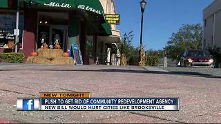 Push to get rid of community redevelopment agency - Video