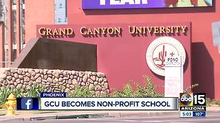 Grand Canyon University becomes non-profit school