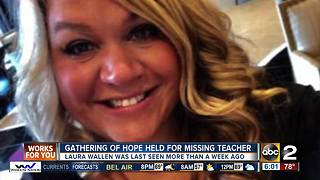 Community comes together for missing pregnant teacher - Video