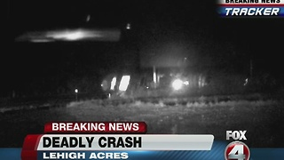 Fatal crash on Buckingham Road - 6:15am report - Video