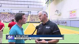 Catching up with Idaho AD Rob Spear - Video