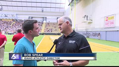 Catching up with Idaho AD Rob Spear