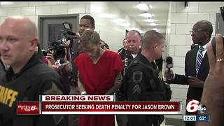 Prosecutor to seek death penalty against Jason Brown, man accused of killing Lt. Aaron Allan - Video