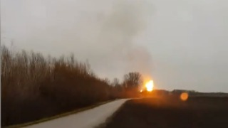 Gas Plant Explosion In Austria Threatens Supply in Southern Europe - Video