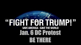 Fight For Trump, Save Trump Save The World