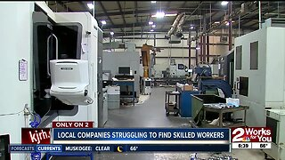 Local companies struggling to find skilled workers