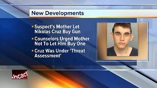 Official: Florida shooting suspect's mom let him buy gun