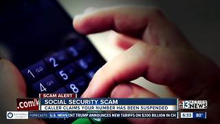 Scam alert: Your social security number isn't suspended - Video