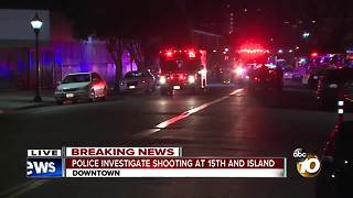 Several injured in downtown San Diego shooting - Video