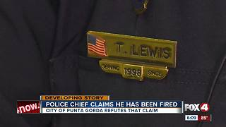 Controversy over police chief firing - Video