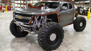 Kymera - The Utterly Insane Chevy 4X4 I Ridiculous Rides