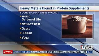 Arsenic, Lead found in protein supplements - Video