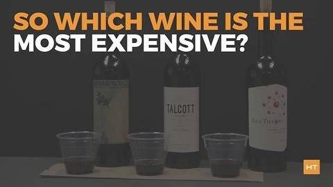 In a blind taste test, these people chose the cheap wine over the expensive stuff | Hot Topics