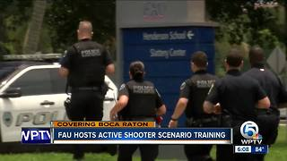 Active shooter drill held in Boca Raton on Saturday - Video