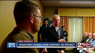 Standing room only at Muskogee Highway 69 town hall - Video