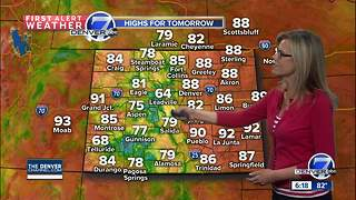 Still hazy especially across western Colorado - Video