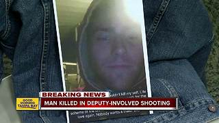 20-year-old with baker act history killed in deputy-involved shooting in Polk County - Video