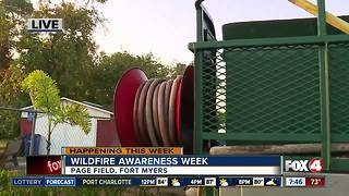 Wildfire Awareness Week in SWFL - Video