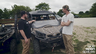 Can-Am's Hunting Edition Lineup with Mossy Oak Camo