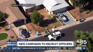Find the Blue in You: New campaign to find Phoenix officers - Video