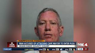 Man accused of attacking Cape mayor to enter plea - Video