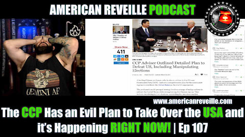 The CCP Has an Evil Plan to Take Over the USA and it's Happening RIGHT NOW! | Ep 107